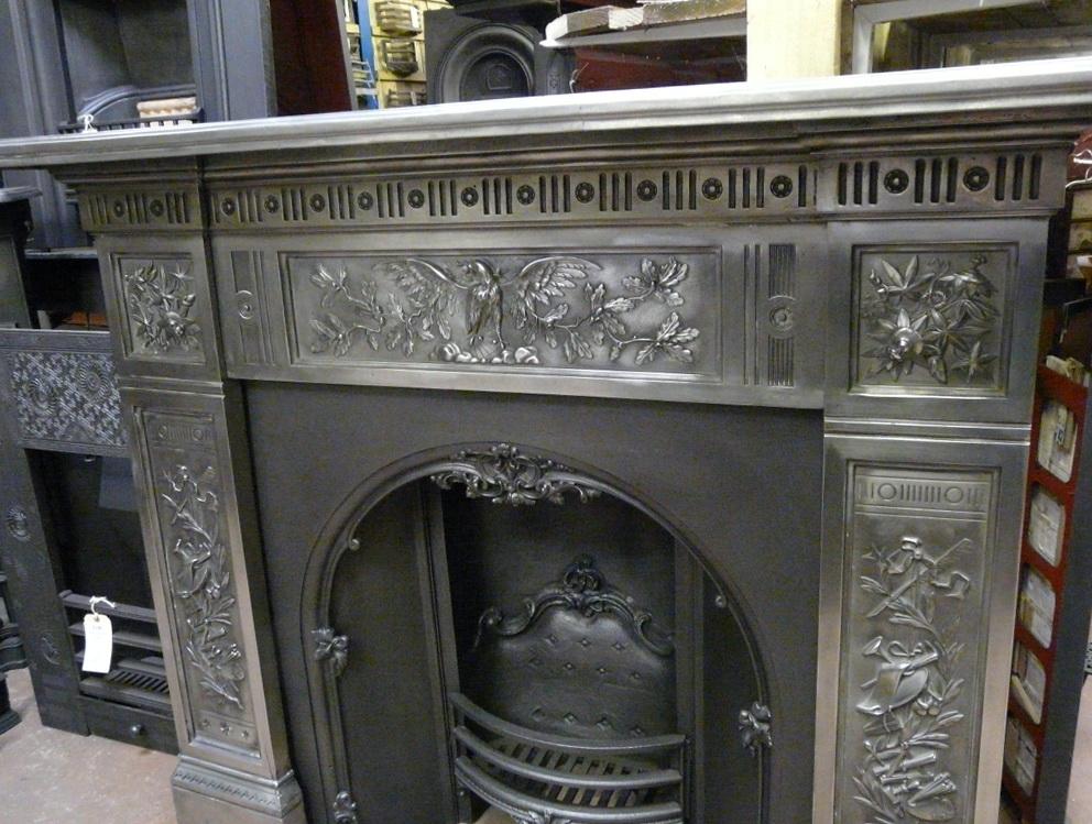 Antique Fireplace Surrounds Cast Iron | Home Design Ideas