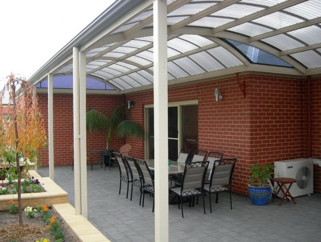 Arched Porch Roof Designs