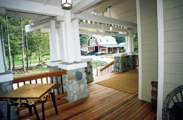Front porch ideas for small ranch style homes home for Back porch ranch