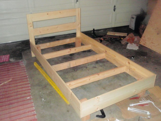 Build A Bed Frame And Headboard