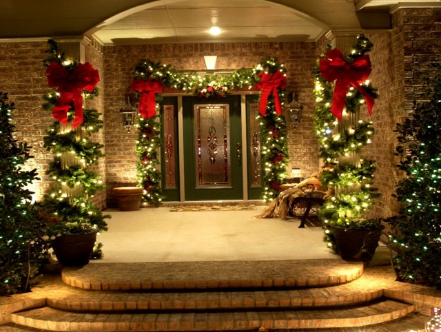 Christmas Porch Decorations Ideas
