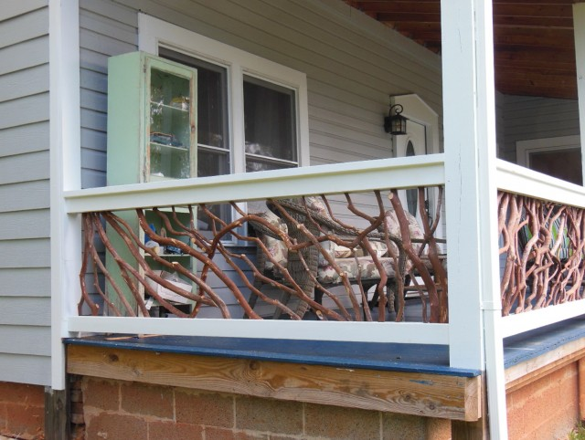 Concrete Porch Railing Ideas