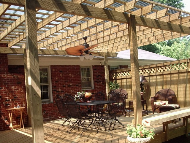 Covered Back Porch Plans