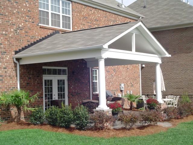 Covered Porch Ideas Backyard