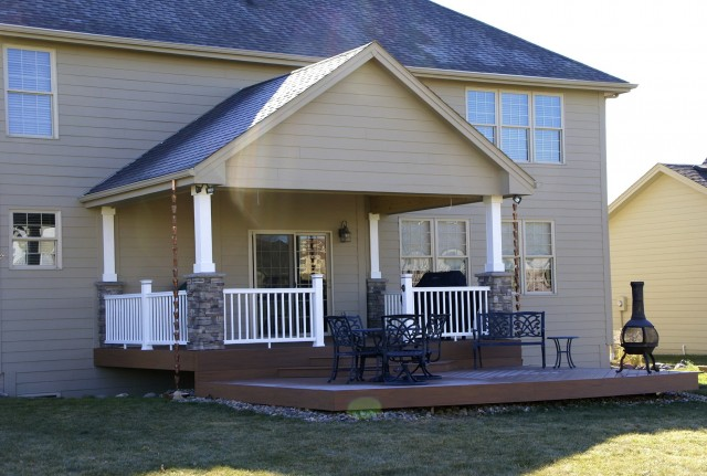 Covered Porch Plans For Mobile Homes