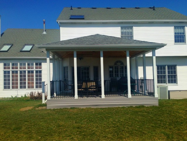 Covered Porch Roof Designs