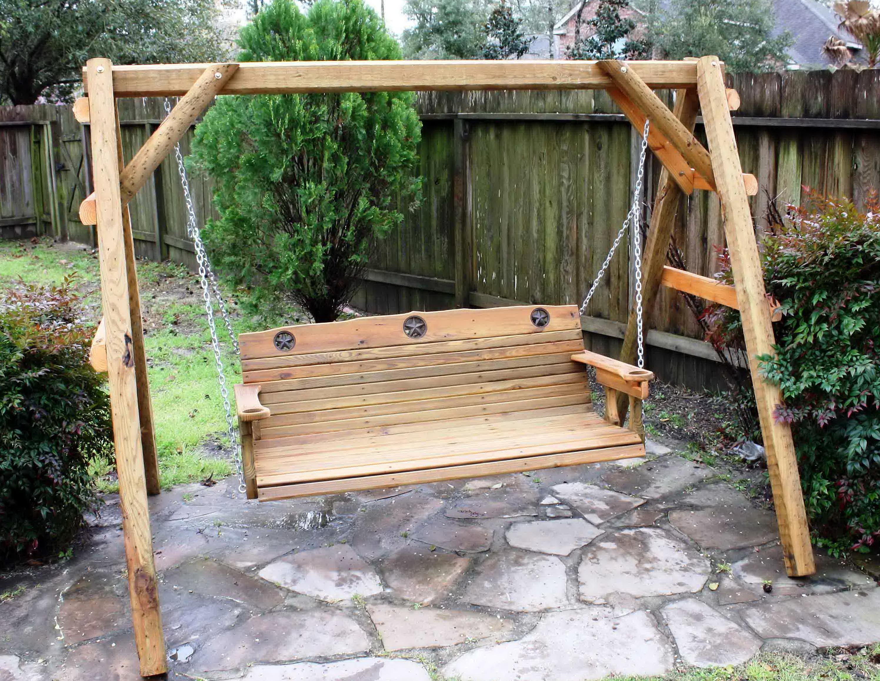 Diy Porch Swing Frame | Home Design Ideas