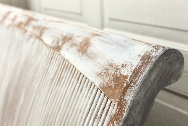 diy shabby chic headboard