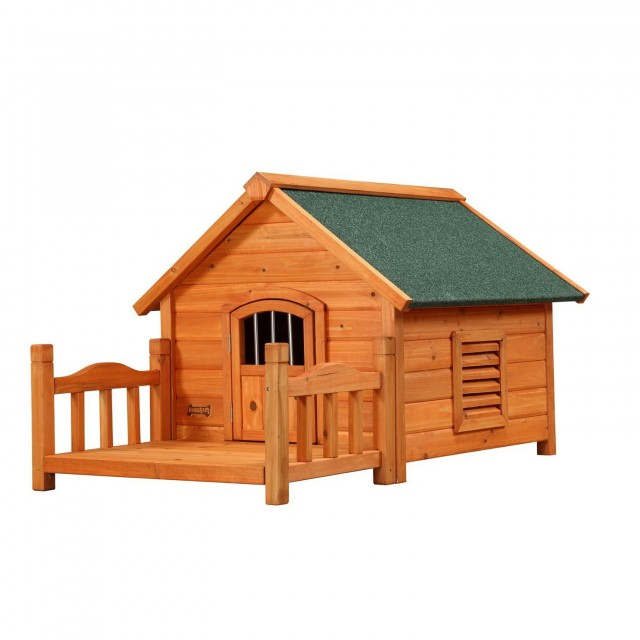 Dog House With Porch Plans Free
