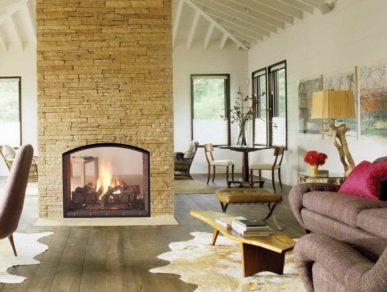 Double Sided Fireplaces South Africa | Home Design Ideas