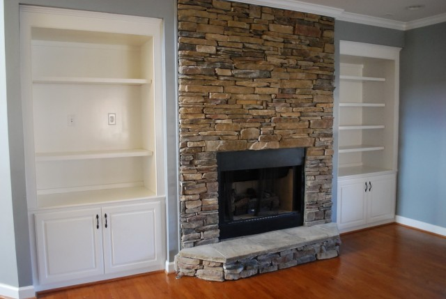 Electric Fireplaces With Stone Surrounds