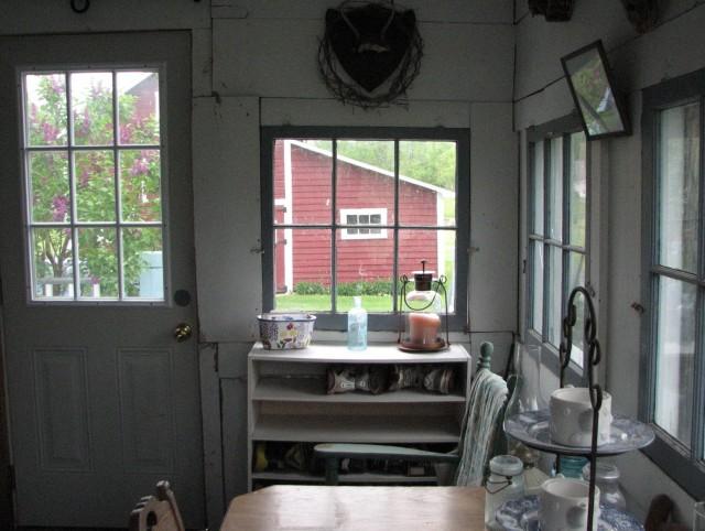 Enclosing A Porch To Make A Mudroom