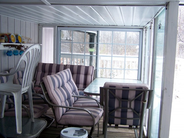 Enclosing A Porch With Plexiglass