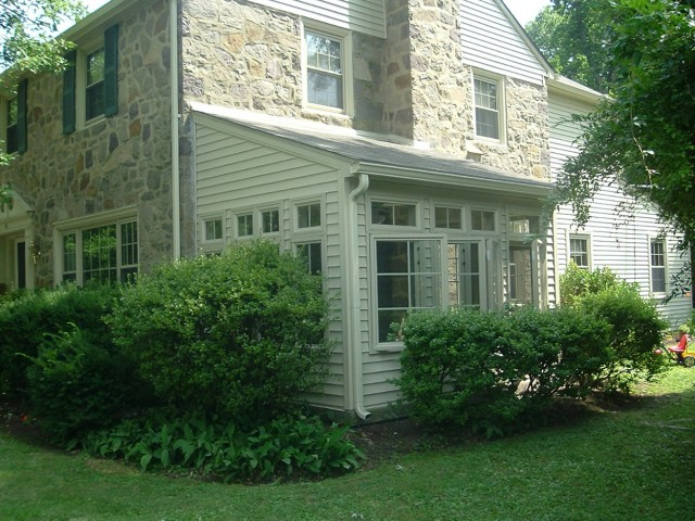 Enclosing A Porch With Windows