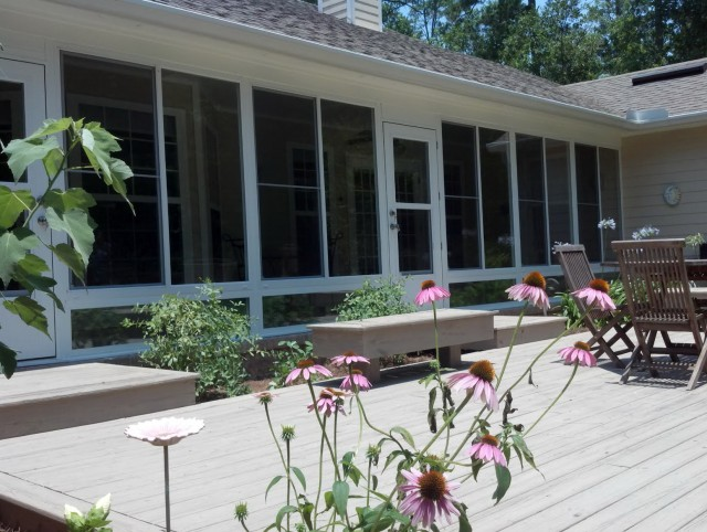 Enclosing A Screened Porch With Glass