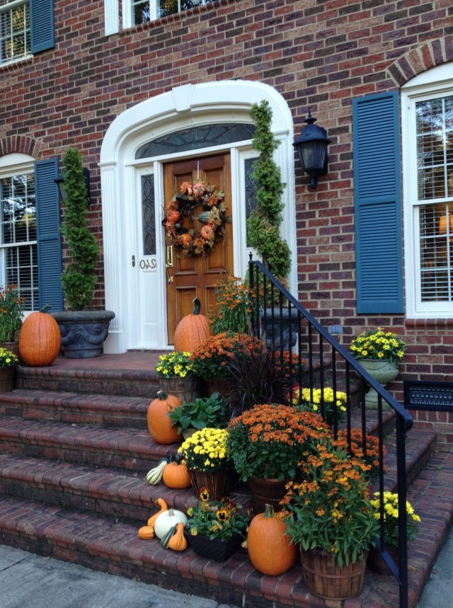 Fall Front Porch Ideas Pinterest