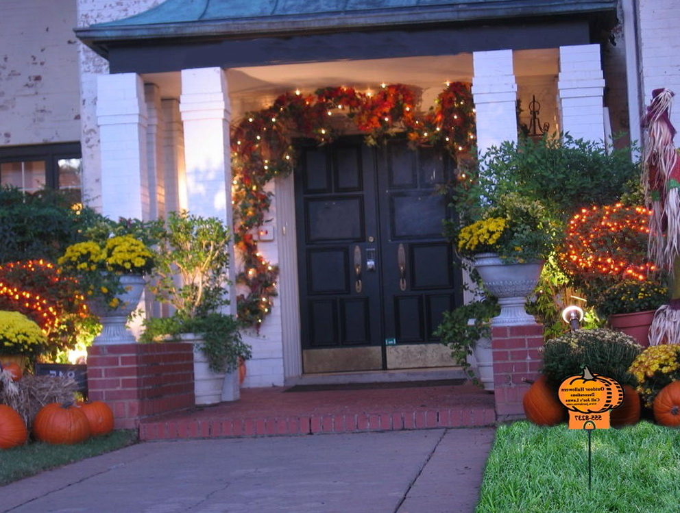 Fall Porch Decorating Ideas Diy Home Design Ideas