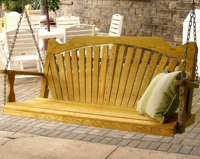 Free Wooden Porch Swing Plans