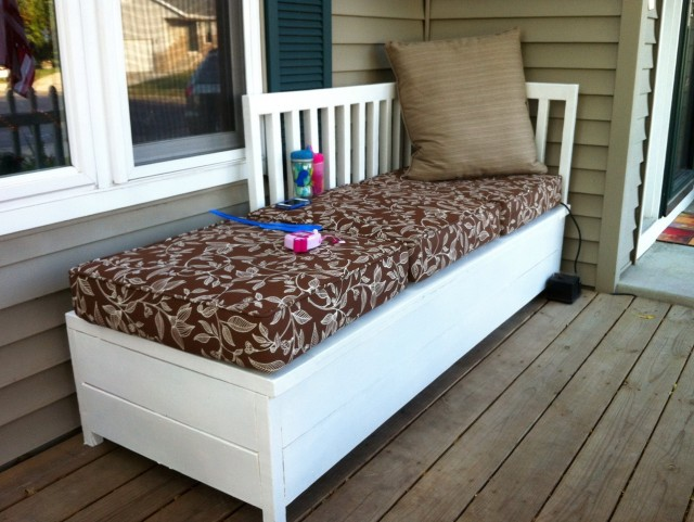 Front Porch Bench With Storage