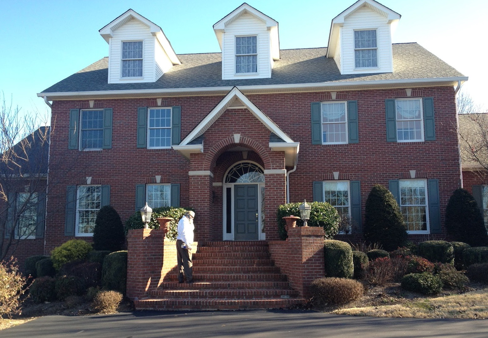 Front Porch Designs For Brick Homes