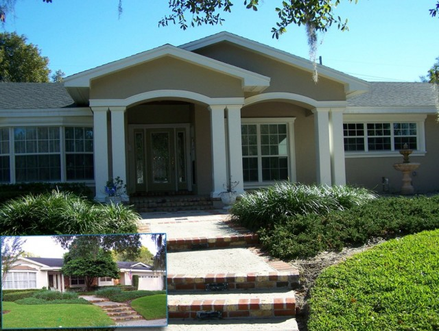 Front porch ideas for small ranch style homes home for Ranch style home plans with front porch