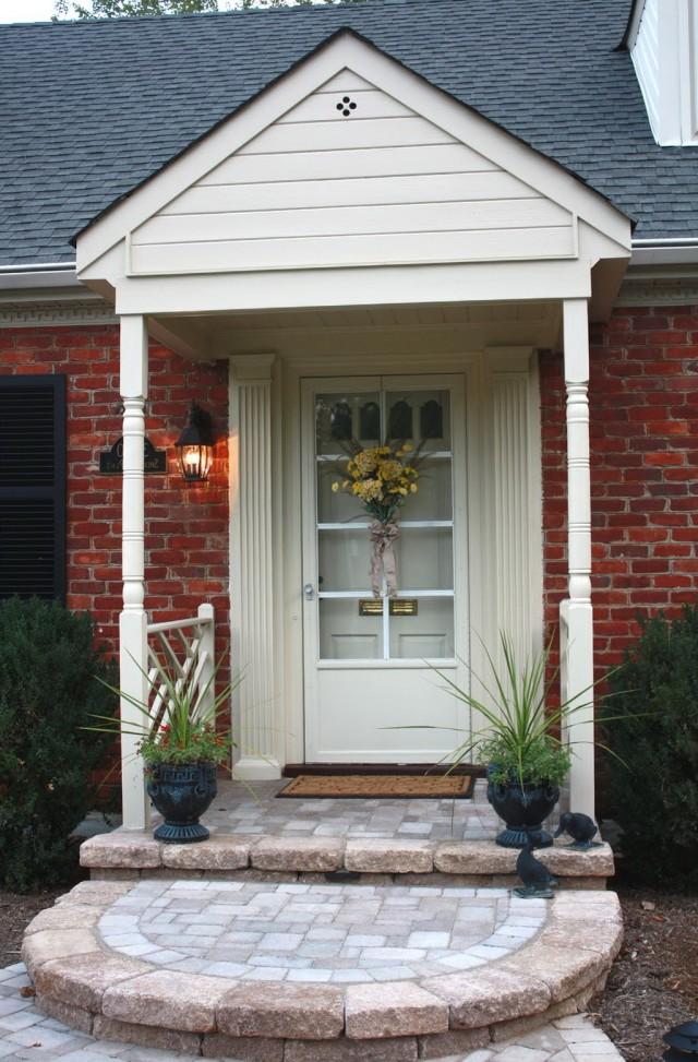 Beautiful Front Porch Designs For Brick Homes Photos Decoration Design Ideas