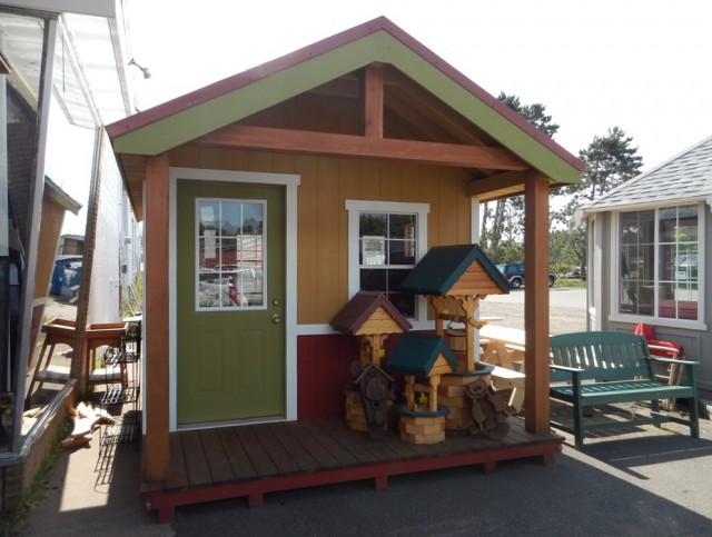 Garden Shed With Porch