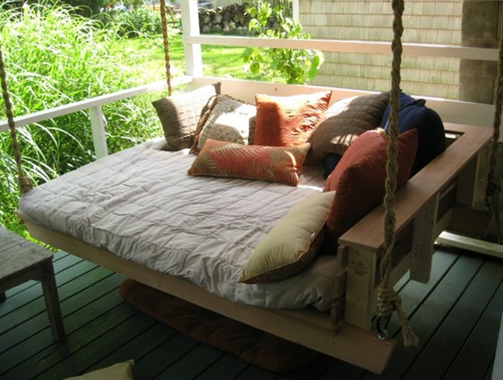 Hanging Porch Swing Bed Plans Home Design Ideas