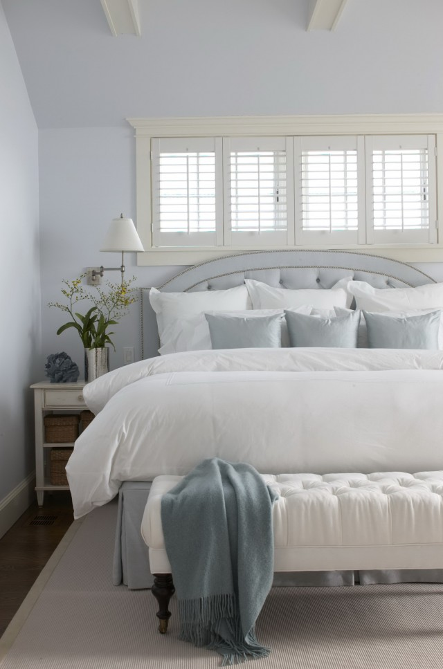 Headboard For Bed In Front Of Window