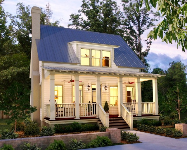 Low Country House Plans With Porches