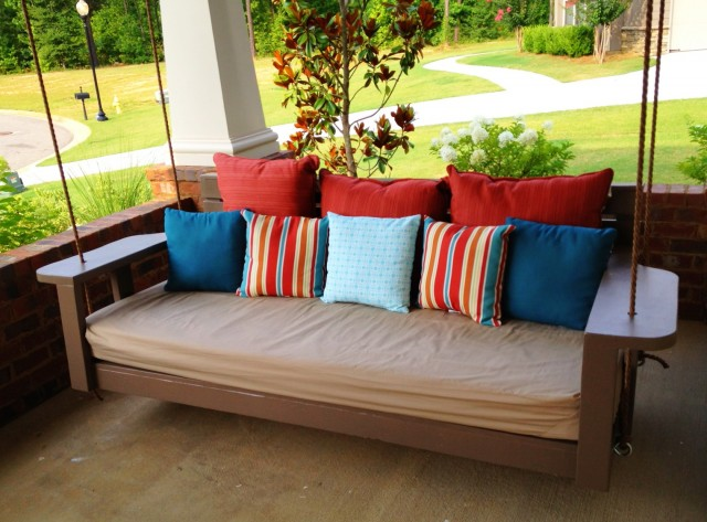 Porch Swing Bed Diy