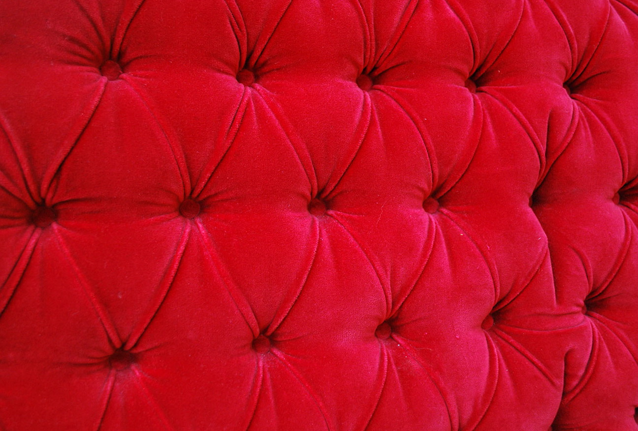 red velvet tufted headboard  home design ideas, Headboard designs