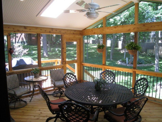 Rustic Screened Porch Ideas