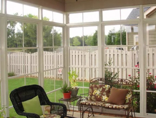 Screen Porch Windows Diy