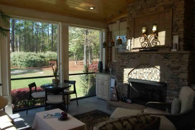 Screened In Porch Interior