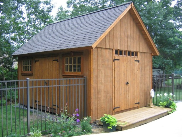 Shed With Porch Plans Free