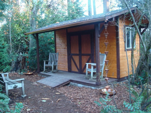 Shed With Porch Uk