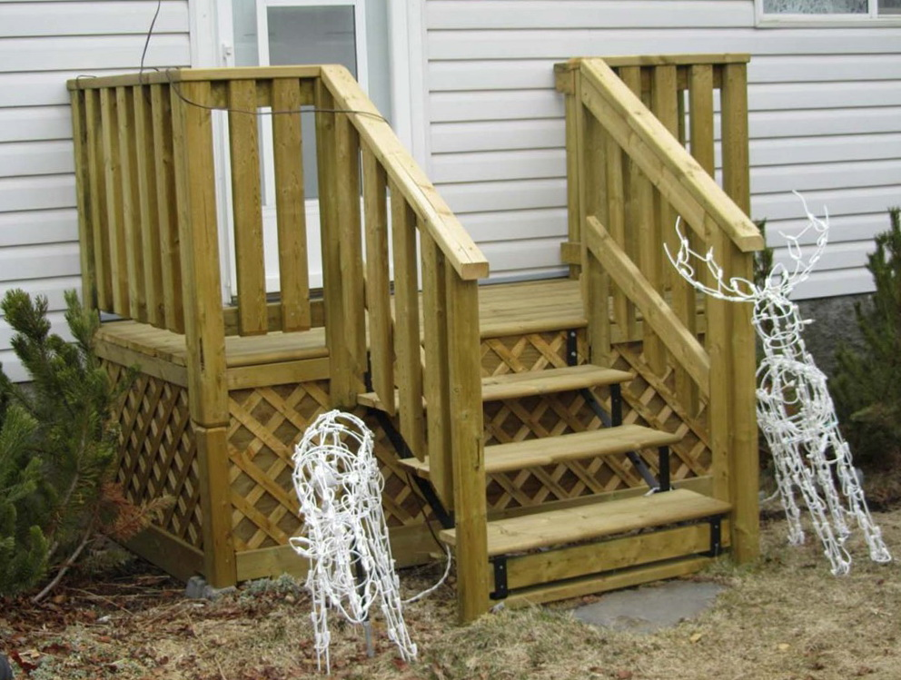 Small front porch deck ideas home design ideas for Small house deck designs