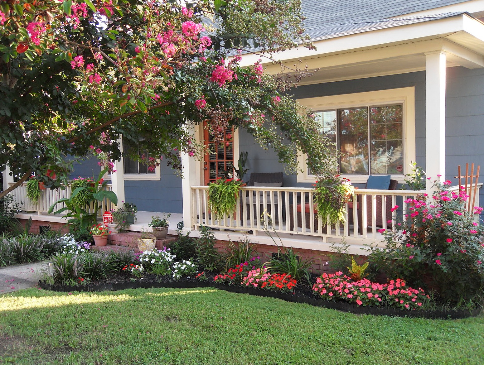 Small Front Porch Garden Ideas - Small Front Porch Garden Ideas Home Design Ideas