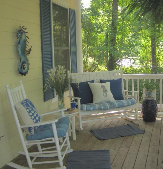 Small Porch Furniture Ideas
