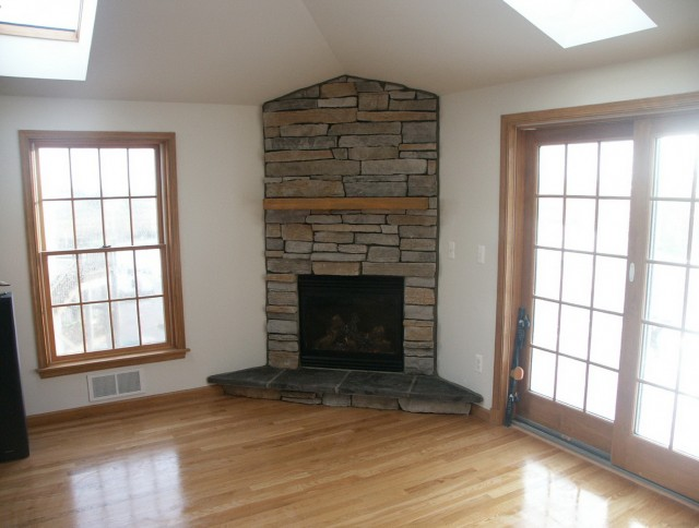Stone Faced Electric Fireplaces