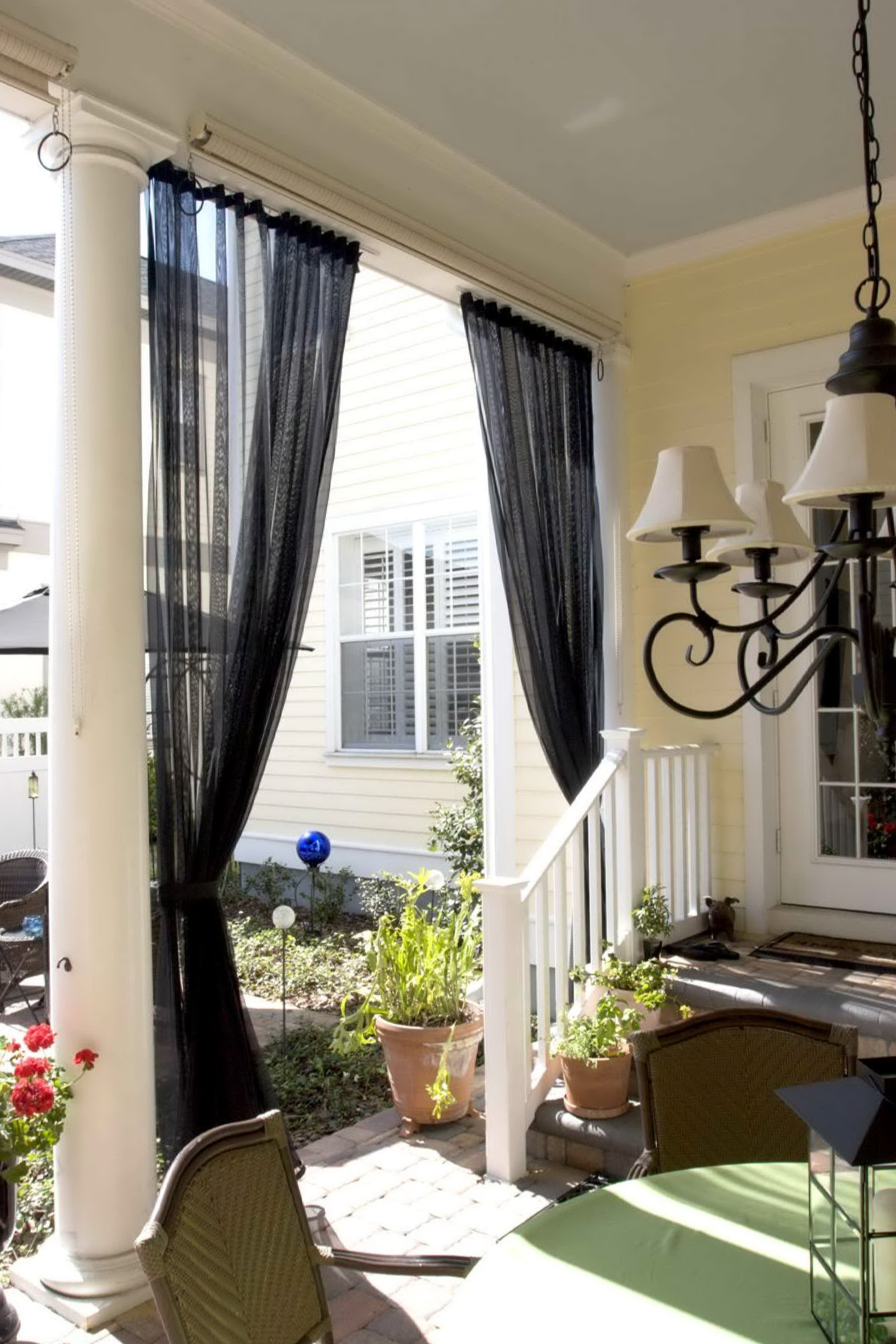 The country porch curtains home design ideas for Country porch coupon code