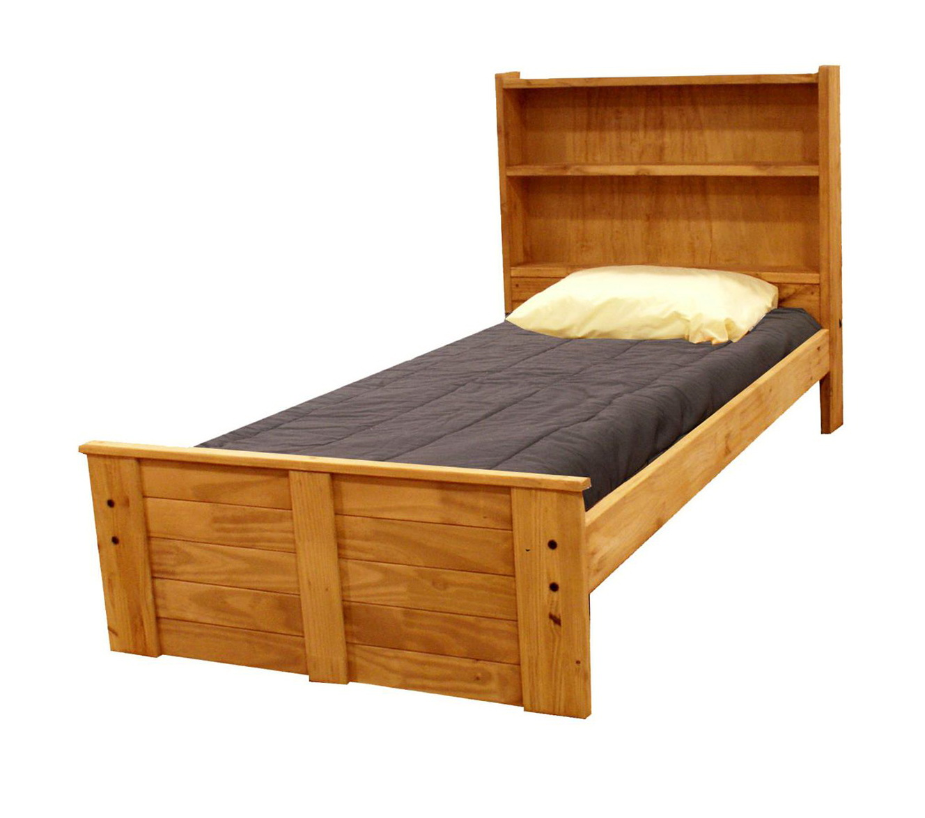 Permalink to Twin Bed With Bookcase Headboard