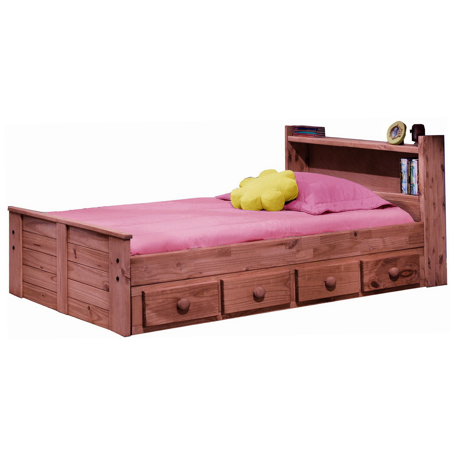 Permalink to Twin Bed With Headboard Bookcase