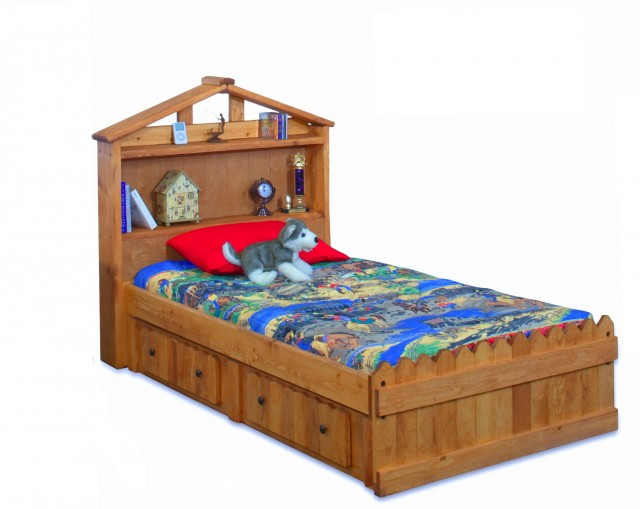 Twin Bed With Headboard Storage