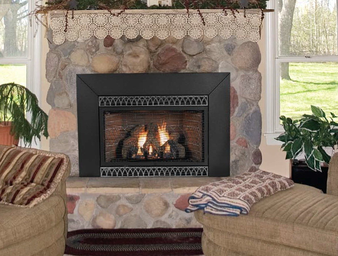 Permalink to Vented Natural Gas Fireplace Inserts