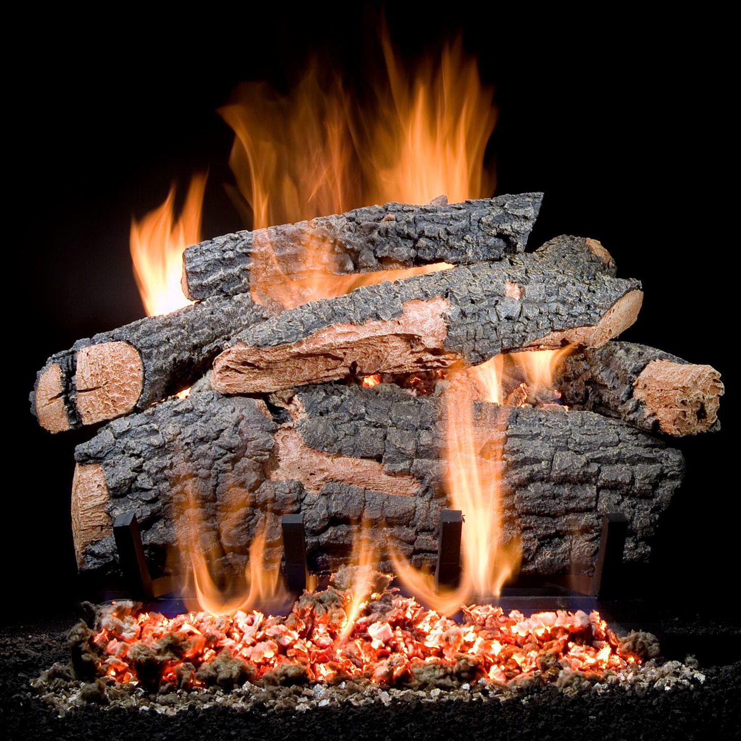 Permalink to Vented Natural Gas Fireplace Logs