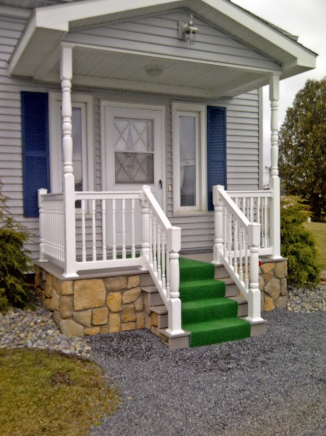Vinyl Porch Railing Installation Cost