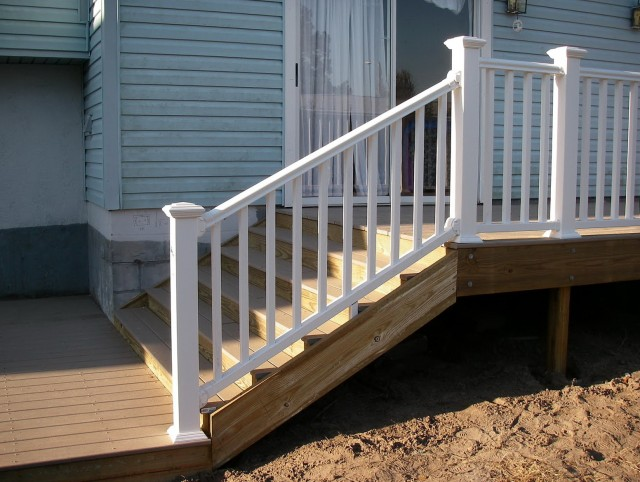 Vinyl Porch Railings And Posts