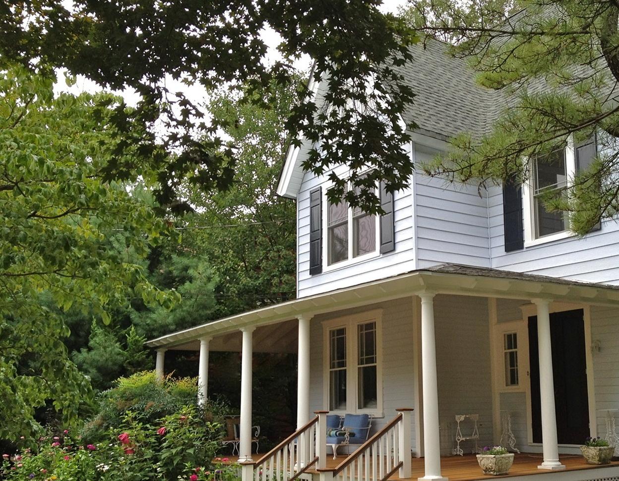 White House With Wrap Around Porch